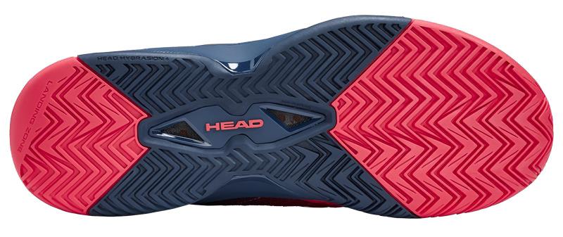 HEAD Revolt 3.0 Allcourt Sohle Tennisschuh